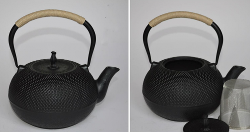 gongfu iron tea pot