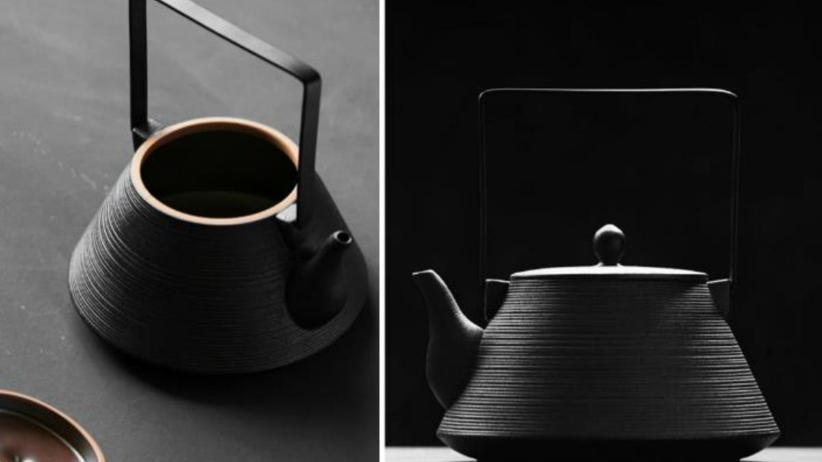square handle teapot Japanese Tea Pots